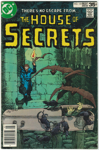 House of Secrets #151 VG Front Cover