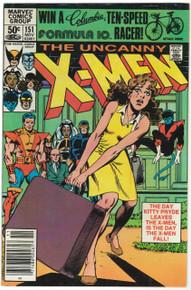 Uncanny X-Men #151 VF Front Cover