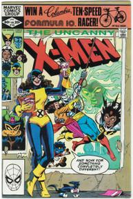 Uncanny X-Men #153 VF Front Cover