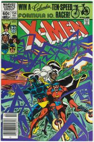 Uncanny X-Men #154 VF/NM Front Cover