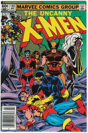 Uncanny X-Men #155 VF/NM Front Cover