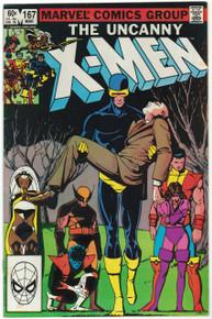 Uncanny X-Men #167 VF Front Cover