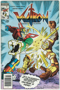 Voltron #3 VG Front Cover