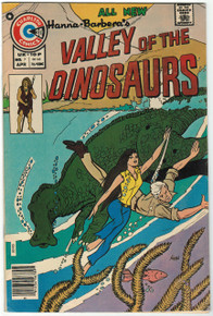 Valley of the Dinosaurs #7 VF Front Cover
