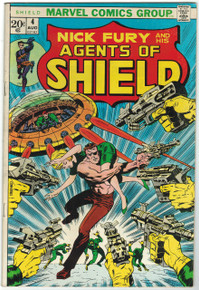 SHIELD #4 FN Front Cover