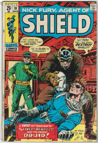 Nick Fury, Agent of SHIELD #18 VG Front Cover
