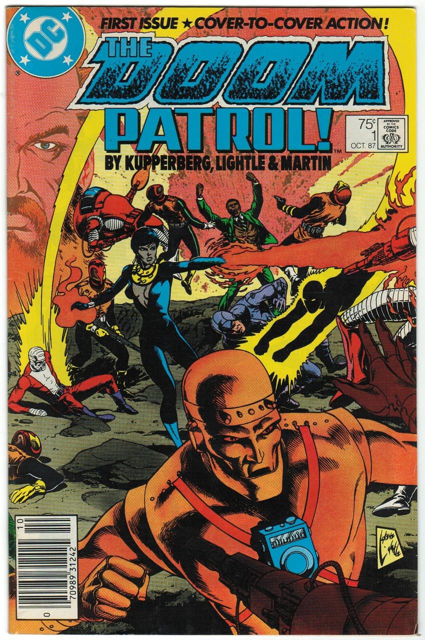 Doom Patrol 1 Fn Hall Of Justice Comics Collectibles