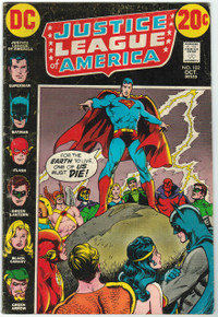 Justice League of America #102 GD Front Cover
