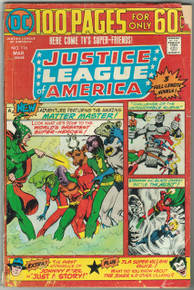 Justice League of America #116 GD Front Cover