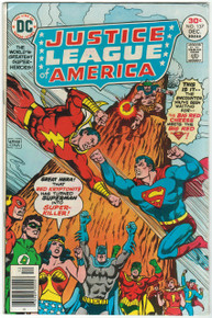 Justice League of America #137 FN/VF Front Cover