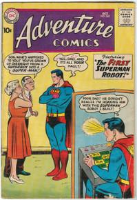 Adventure Comics #265 VG Front Cover