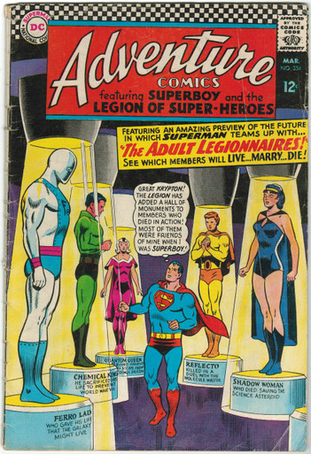 Adventure Comics #354 GD Front Cover