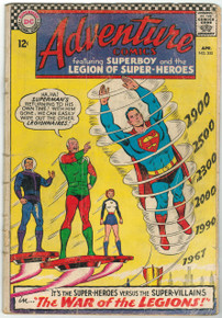 Adventure Comics #355 GD Front Cover