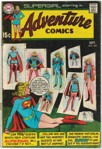 Adventure Comics #397 VG Front Cover