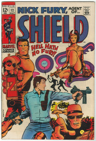 Nick Fury, Agent of SHIELD #12 FN Front Cover