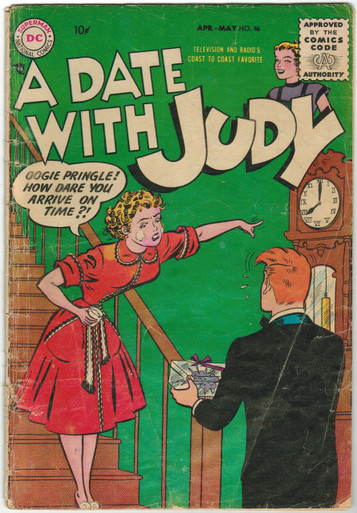 A Date With Judy #46 GD Front Cover