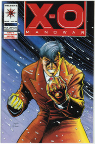 X-O Manowar #26 VF/NM Front Cover