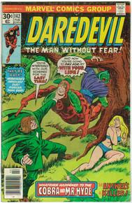 Daredevil #142 VG