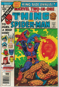 Marvel Two-In-One Annual #2 FN Front Cover