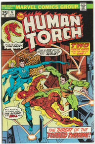 Human Torch #6 FN/VF Front Cover