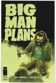 Big Man Plans #2 NM Front Cover