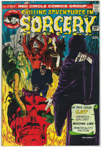 Chilling Adventures in Sorcery #3 FN Front Cover