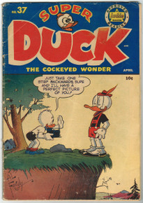 Super Duck #37 GD Front Cover