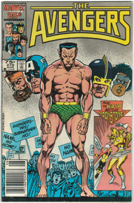 Avengers #270 FN/VF Front Cover