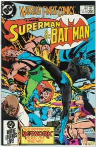 Worlds Finest #313 VF Front Cover
