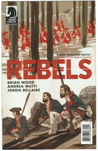 Rebels Ashcan NM Front Cover