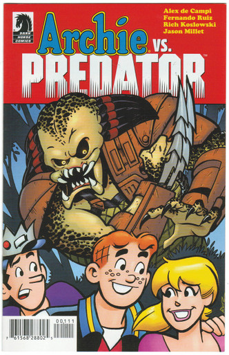 Archie Vs. Predator Ashcan NM Front Cover