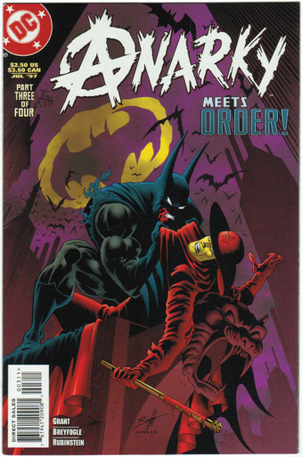 Anarky #3 VF Front Cover