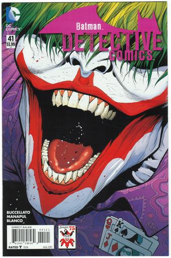 Detective Comics #41 NM Joker Variant Front Cover