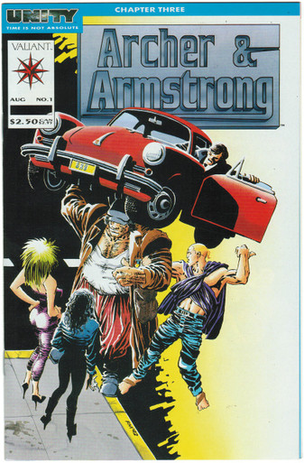 Archer & Armstrong #1 VF/NM Front Cover