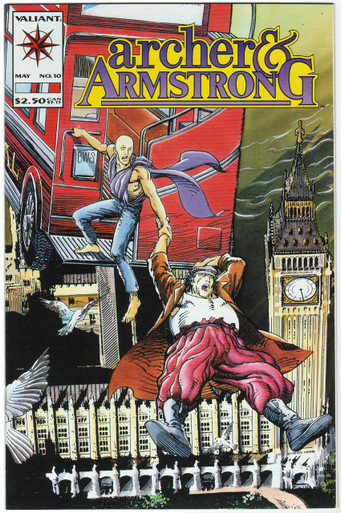Archer & Armstrong #10 VF/NM Front Cover