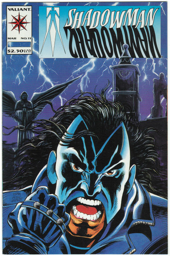 Shadowman #11 VF/NM Front Cover