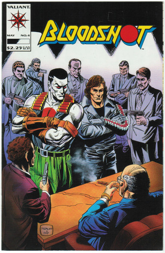 Bloodshot #4 VF/NM Front Cover