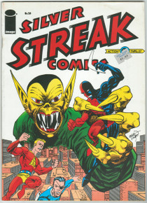 Silver Streak Comics #24 VF/NM Front Cover