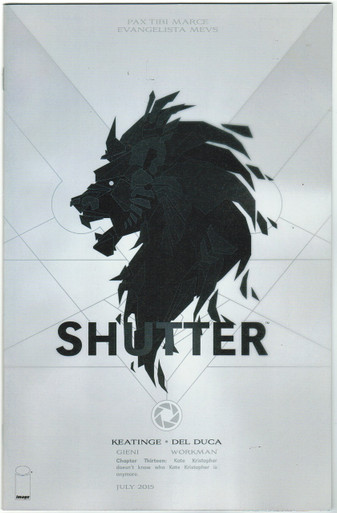 Shutter #13 NM SDCC 15 Variant Front Cover