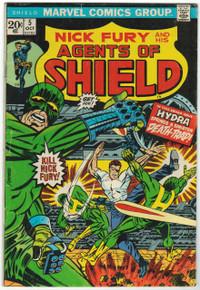 S.H.I.E.L.D. #5 VG+ Front Cover