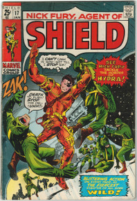 Nick Fury #17 VG Front Cover