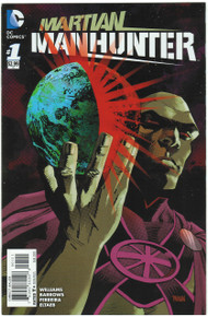 Martian Manhunter #1 NM Front Cover