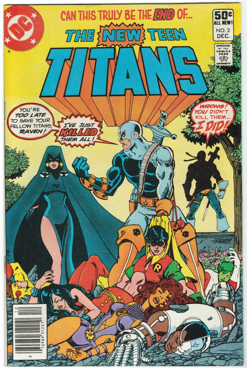 Image result for New Teen Titans #2