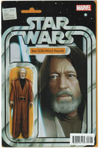Star Wars #3 Action Figure Variant NM Front Cover