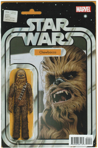 Star Wars #4 Action Figure Variant NM Front Cover