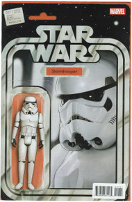 Star Wars #7 Action Figure Variant VF/NM Front Cover