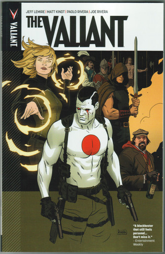 The Valiant TPB Front Cover