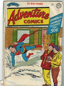 Adventure Comics #161 GD