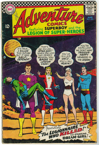 Adventure Comics #342 GD