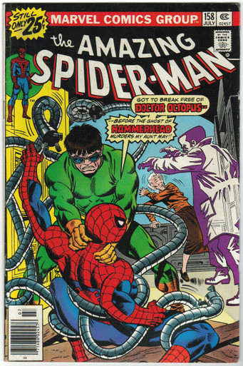 Amazing Spider Man #158 FN Front Cover